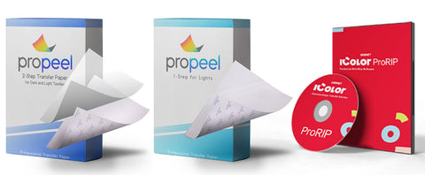Propeel papers and iColor ProRIP software
