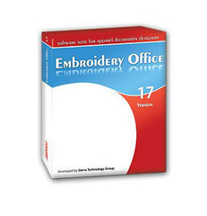 Embroidery office lettering and editing software