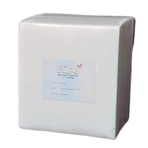 "3oz 8"" x 8"" E-Zee Cut Away Super Hefty White 250pk"