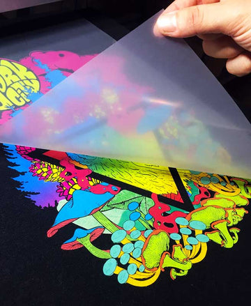 iColor 550 'A' Foil and 'B' Adhesive Transfer Paper for Light and Dark Textiles
