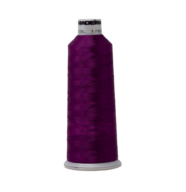 Dark Magenta 1788 #40 Weight Madeira Polyneon Thread