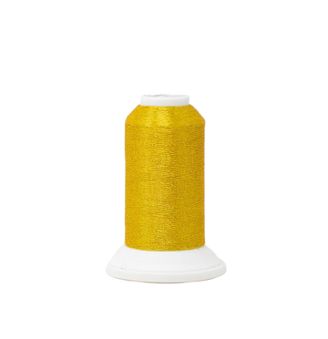 Pure Gold 4206 #40 Weight Madeira Polyester Metallic Thread