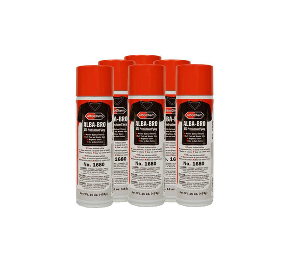 Aerosol Dark Shirt Pretreatment Cans for Brother Ink