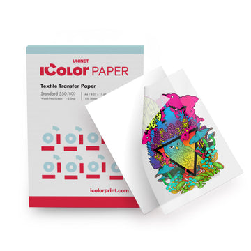 iColor Standard 550/800 2-Step Textile Transfer Media