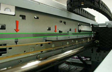 Carriage Encoder Strip for the DTG HM1 Garment Printer