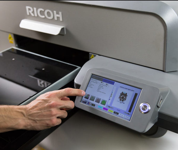 Ricoh Ri6000 Commercial Garment Printer NEW