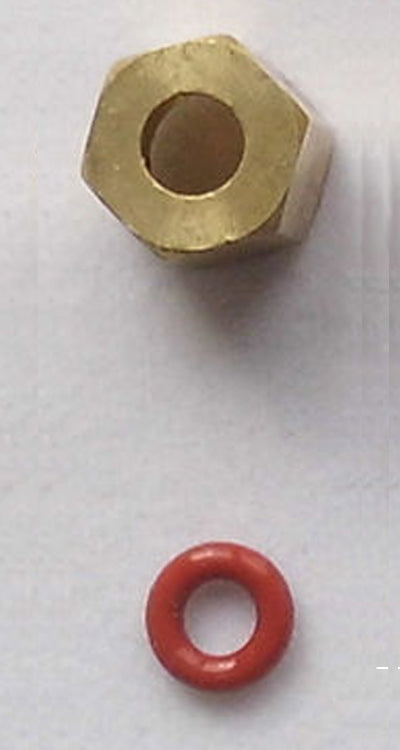 DTG HM1 Brass Fitting and O-ring