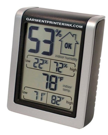 Garment Printer Humidity Monitor