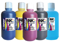 Dupont liter ink set with FREE cleaning solution for DTG, Freejet, IDot, Neoflex and more