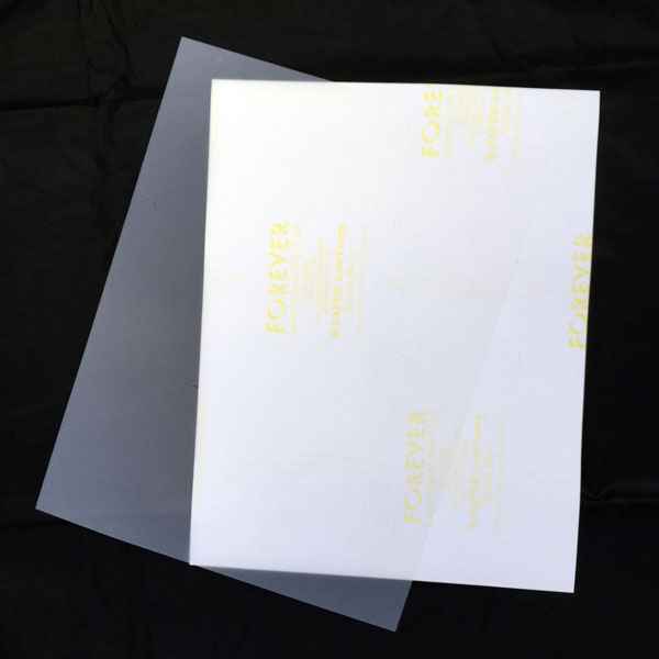 Forever Laser Dark No-Cut Low Temp Transfer Film