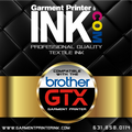 Black 700cc Replacement ink Bottle for Brother GTX Printers
