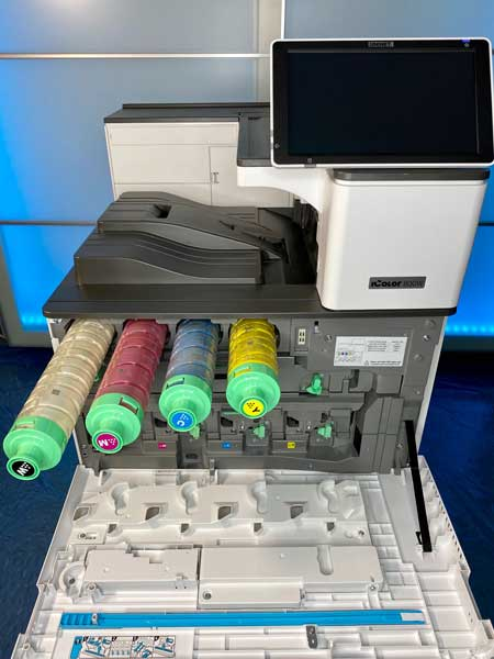 Laser Transfer Toner and Drums for iColor 800