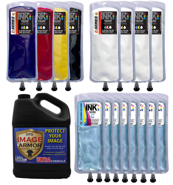 Image Armor 250ml EZ 7 Bag Change over Kit for Spectra, DTG, Veloci-Jet and Fast T-Jet