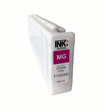 GPI Magenta ink Replacement Cartridge for Epson F2000 F2100 600ml T7253