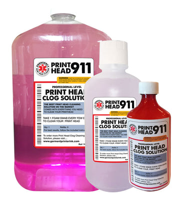 Printhead 911 Clog Cleaner Refill Bottles