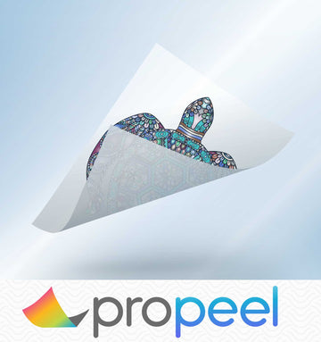 Propeel Window Cling Sheets and Banners for White Toner Laser Transfer Printers