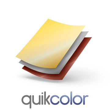 Quikcolor Metallic Hard Surface 1-Step Transfer Media for Ceramic, Glass and Metal