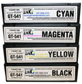 Cmyk 250 ml Ink Cartridge Set For Brother Gt-541