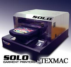 TEXMAC SOLO Garment Printer
