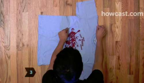 Fastest way to fold a shirt