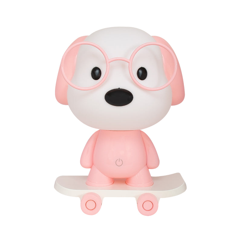 Lampara - LED Dog Pink