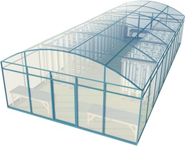 Vertical Greenhouse Farming
