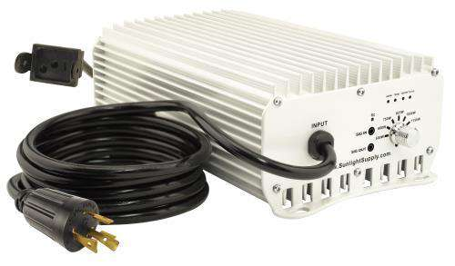 Sun System® 1 DE Etelligent™ Compatible 1000 Watt Electronic Ballast - 480 Volt - Sunlite Gardens Your Hydroponic,  Automation, and Gardening Supplies