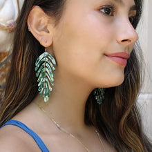 Load image into Gallery viewer, Banana Leaf Earring