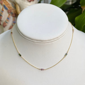 Tourmaline Gemstone Choker