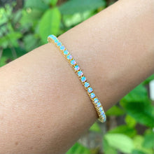 Load image into Gallery viewer, Opal Tennis Bracelet