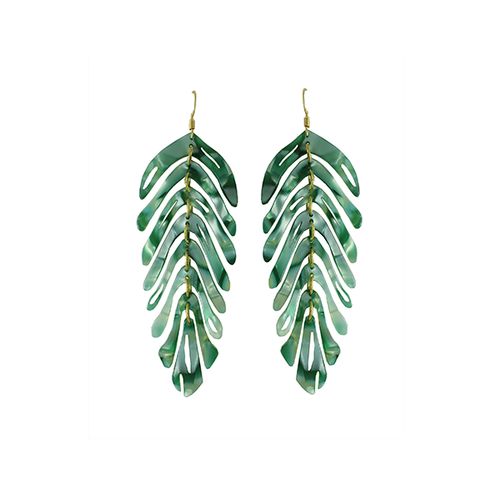 Banana Leaf Earring