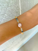 Load image into Gallery viewer, Jasmine Pink Edison Bracelet