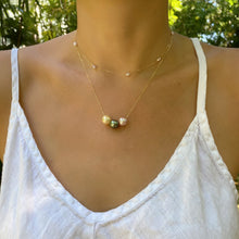Load image into Gallery viewer, Anuenue Floating Necklace 14kt Gold
