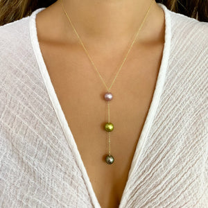 Aruba Y Pearl Necklace