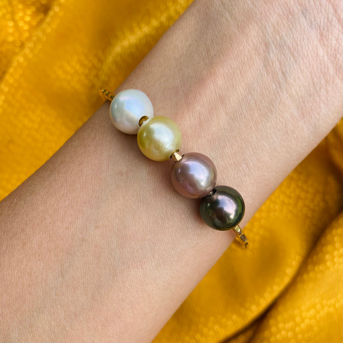 Kailua Pearl Bangle