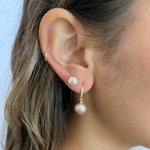 Load image into Gallery viewer, Victoria Pink Edison Pearl Drop Earring