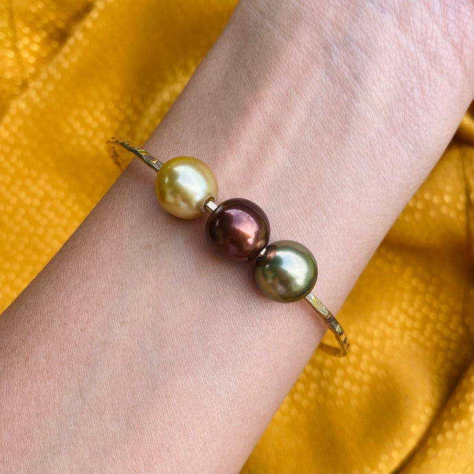 Aspen Pearl Bangle