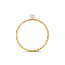 Load image into Gallery viewer, Tiny Pearl Ring