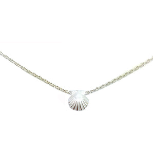 Tiny Sunrise Shell Necklace