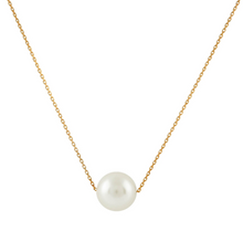 Load image into Gallery viewer, Floating White Freshwater Pearl Necklace