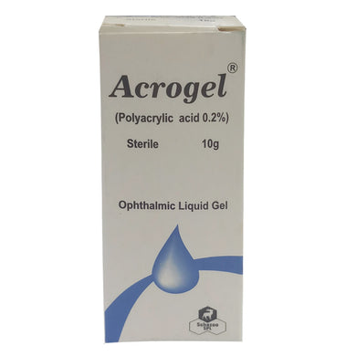 Acrogel Eye Drop 10g Polyacrylic acid 0.2% SCHAZOO LAB LTD