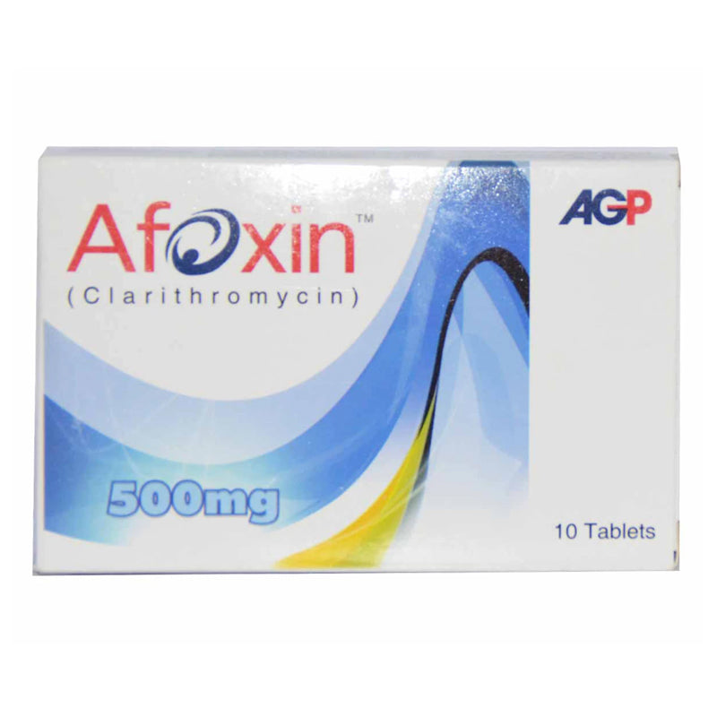 Afoxin Tablets 500mg AGP (Pvt) Ltd Clarithromycin