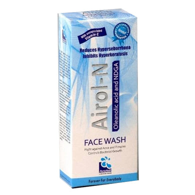 Airol-N Face Wash-60ml PHARMA HEALTH PAKISTAN (PVT.) LTD-Nordihydroguaiaretic acid (NDGA) Oleanolic acid