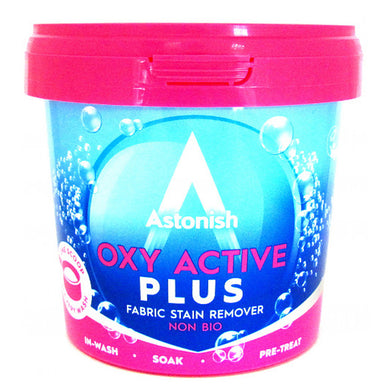 Astonish Oxy Active Plus Fabric Stain Remover 500g
