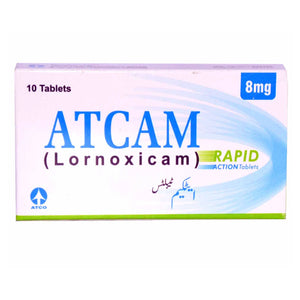 Atcam 8mg Tab-Tablet Atcam Rapid Action Tab 8mg 10_s AtcoLaboratories LTD NSAID Lornoxicam