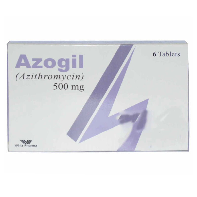Azogil 500mg Tablet Whiz Pharma Azithromycin
