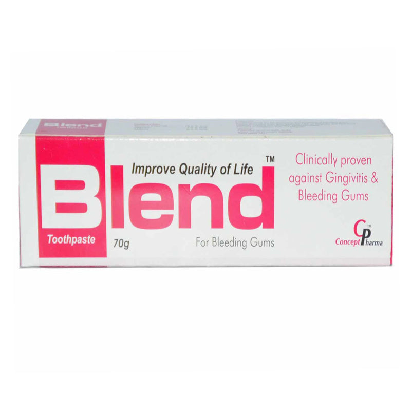 Blend Tooth Paste 70G Concept pharma-For Bleedeing Gums.jpg