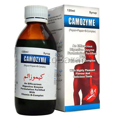 Camozyme Syrup 120ml Syr A Mendoza Multivitamins Each 5mlcontains Pepsin 75mg Papain 25mg Vitamin B 15mg_VitaminB22mg Vitamin B 62mg Nicotinamide 2mg jpg