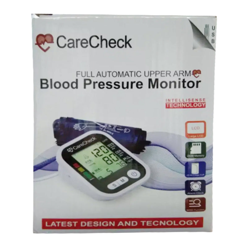 Care Check Full Automatic Upper Arm Blood Pressure Monitor