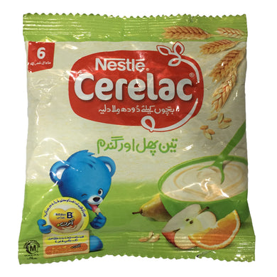 Nestle Cerelac 3 fruit&wheat 25g